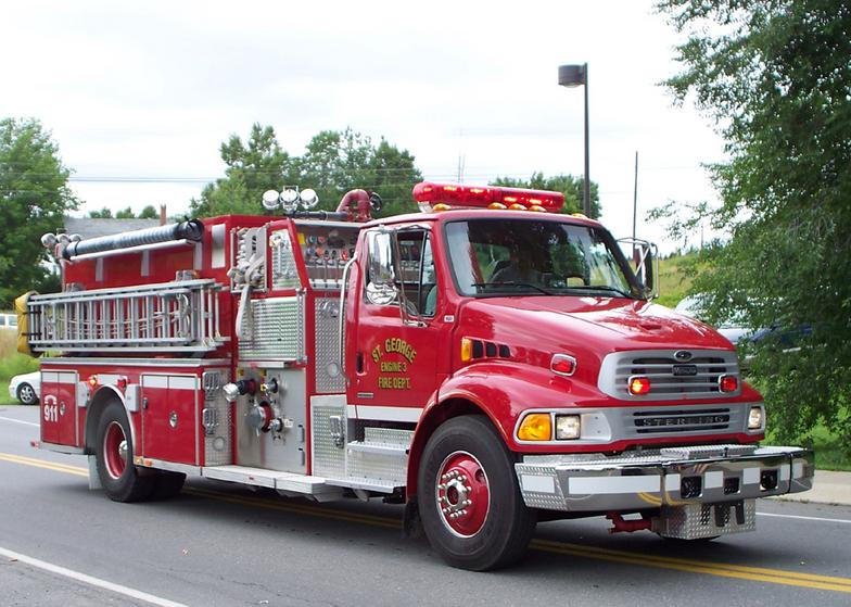 St. George Fire and Ambulance Association Fire Truck